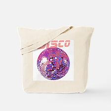 Pink Disco Ball Tote Bag