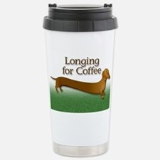Longing for coffee Stainless Steel Travel Mug