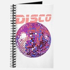 Pink Disco Ball Journal