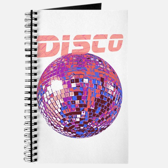 Pink Disco Ball Journal