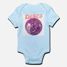 Pink Disco Ball Infant Creeper