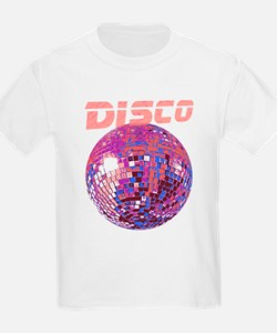 Pink Disco Ball Kids T-Shirt