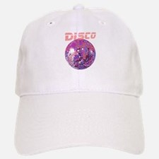 Pink Disco Ball Baseball Baseball Cap