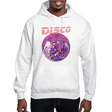 Pink Disco Ball Hoodie Sweatshirt