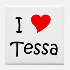Cute Tessa Tile Coaster