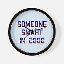 Someone smart '08. Wall Clock