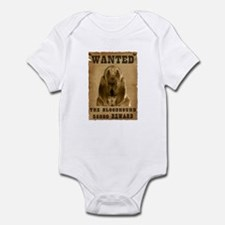 """Wanted"" Bloodhound Infant Bodysuit"
