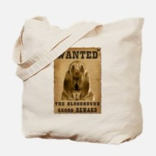 """Wanted"" Bloodhound Tote Bag"