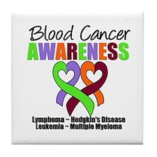 BloodCancerAwareness Tile Coaster