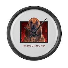 Bloodhound Large Wall Clock