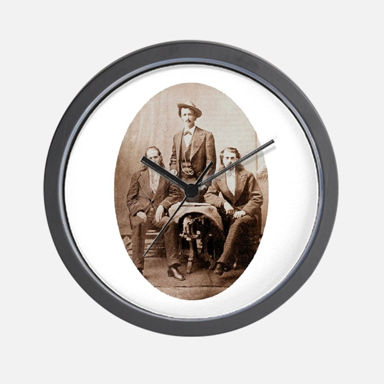 Buffalo Bill & Friends Wall Clock