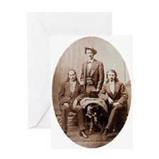 Buffalo Bill & Friends Greeting Card