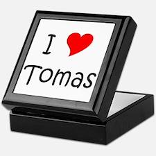 Cute I love tomas Keepsake Box