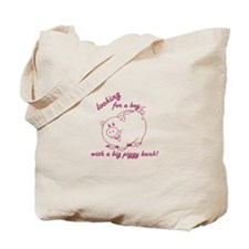 Looking for a boy... Tote Bag