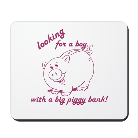 Looking for a boy... Mousepad