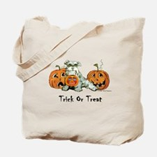 Schnauzer Halloween Dog Tote Bag