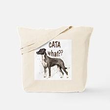 CATA WHAT Tote Bag