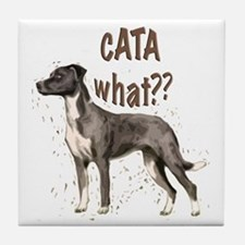 CATA WHAT Tile Coaster