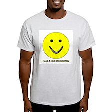 Nice boomerang Ash Grey T-Shirt
