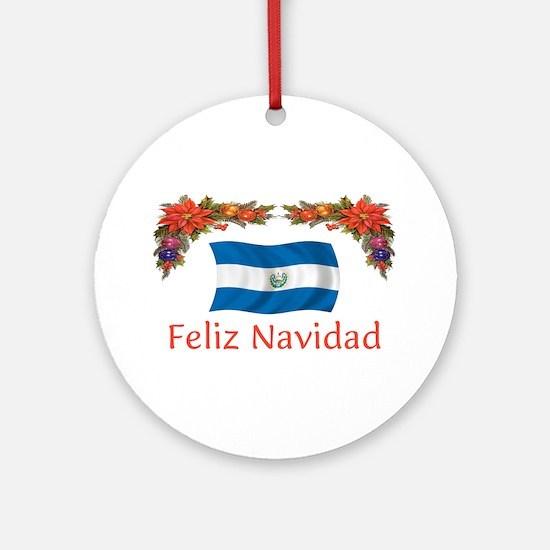 El Salvador Feliz... 2 Ornament (Round)