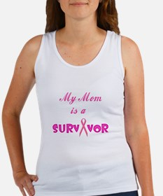 My Mom is a Survivor Women's Tank Top