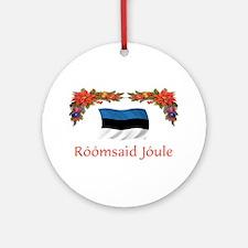 Estonia Roomsaid...2 Ornament (Round)