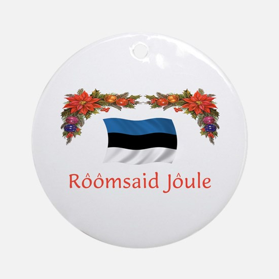 Estonia Roomsaid...2 Ornament (Round)