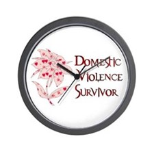 Domestic Abuse Survivor Wall Clock