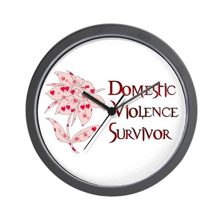 Domestic Abuse Survivor Wall Clock