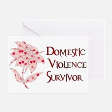 Domestic Abuse Survivor Greeting Card