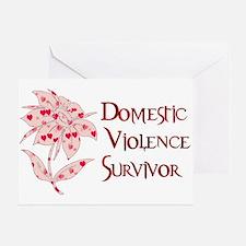 Domestic Abuse Survivor Greeting Card