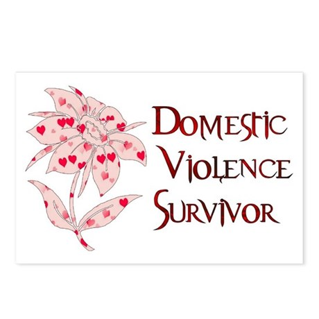 Domestic Abuse Survivor Postcards (Package of 8)
