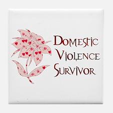 Domestic Abuse Survivor Tile Coaster