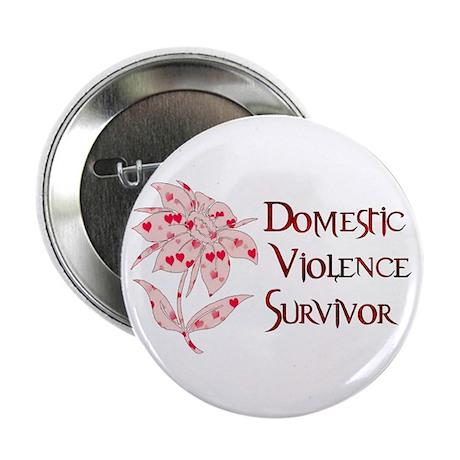 "Domestic Abuse Survivor 2.25"" Button (100 pack)"