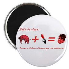 A Pig + Lipstick = Sarah Palin Magnet