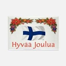 Finland Hyvaa Joulua 2 Rectangle Magnet