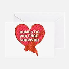 Violence Survivor Greeting Card