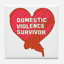 Violence Survivor Tile Coaster