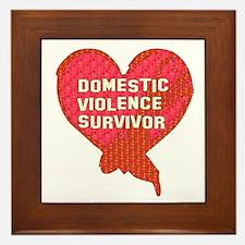 Violence Survivor Framed Tile