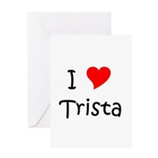 Trista Greeting Card