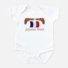 France Joyeux Noel 2 Infant Bodysuit
