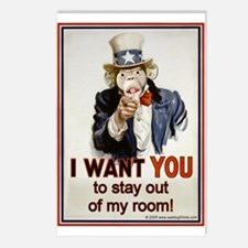 Stay out of my Room Postcards (Package of 8)