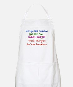 End Cycle Of Violence BBQ Apron