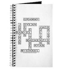 SHELLEY GRAMMY Crossword/Scrabble Gifts Journal