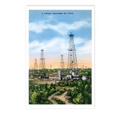 Oklahoma Oil Field OK Postcards (Package of 8)
