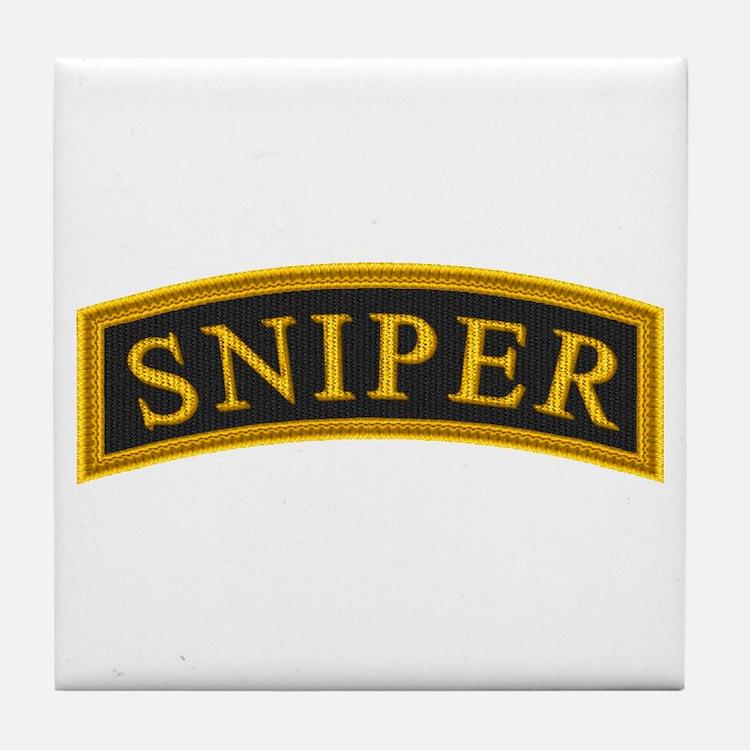 Sniper Tab Tile Coaster