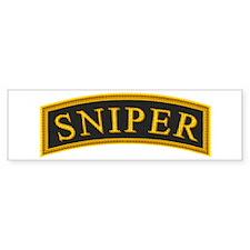 Sniper Tab Bumper Bumper Sticker
