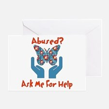 Domestic Violence Help Greeting Card