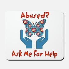 Domestic Violence Help Mousepad