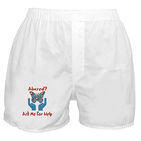 Domestic Violence Help Boxer Shorts